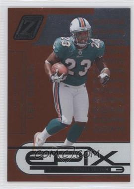 2005 Donruss Zenith Epix 1st Down Orange #E-22 - Ronnie Brown /1000