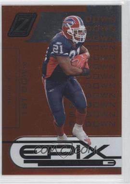2005 Donruss Zenith Epix 1st Down Orange #E-25 - Willis McGahee /1000