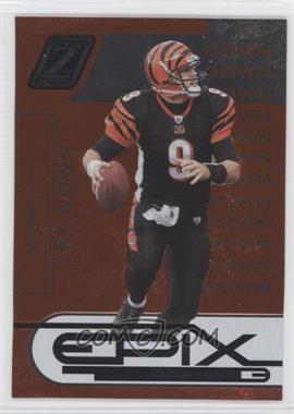 2005 Donruss Zenith Epix 1st Down Orange #E-6 - Carson Palmer /1000
