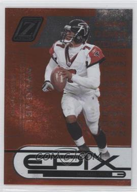 2005 Donruss Zenith Epix 1st Down Orange #E-9 - Michael Vick /1000