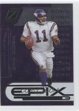 2005 Donruss Zenith Epix 2nd Down Purple #E-16 - Daunte Culpepper /250