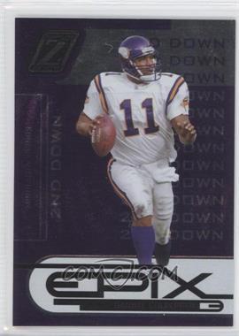2005 Donruss Zenith Epix 2nd Down Purple #E-16 - Daunte Culpepper /250