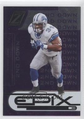 2005 Donruss Zenith Epix 2nd Down Purple #E-18 - Kevin Jones /250
