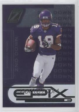 2005 Donruss Zenith Epix 2nd Down Purple #E-7 - Troy Williamson /250