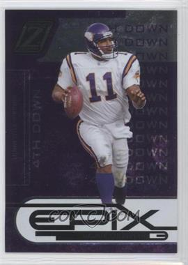 2005 Donruss Zenith Epix 4th Down Purple #E-16 - Daunte Culpepper /100