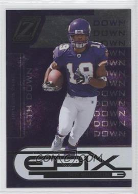 2005 Donruss Zenith Epix 4th Down Purple #E-7 - Troy Williamson /100