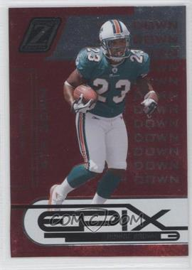 2005 Donruss Zenith Epix 4th Down Red #E-22 - Ronnie Brown /50