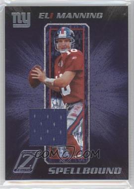 2005 Donruss Zenith Spellbound Materials [Memorabilia] #S-12 - Eli Manning /250