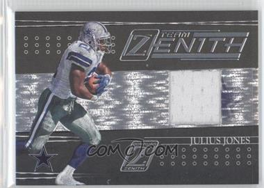 2005 Donruss Zenith Team Zenith Jerseys [Memorabilia] #TZ-4 - Julius Jones /100