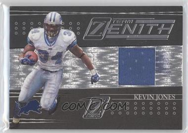 2005 Donruss Zenith Team Zenith Jerseys [Memorabilia] #TZ-7 - Kevin Jones /100