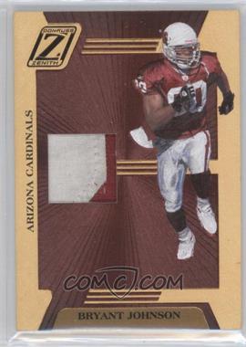 2005 Donruss Zenith Z-Jerseys Prime #Z - 2 - Bryant Johnson /100