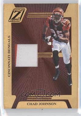 2005 Donruss Zenith Z-Jerseys Prime #Z-14 - Chad Johnson /50