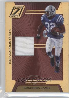 2005 Donruss Zenith Z-Jerseys Prime #Z-35 - Edgerrin James /100