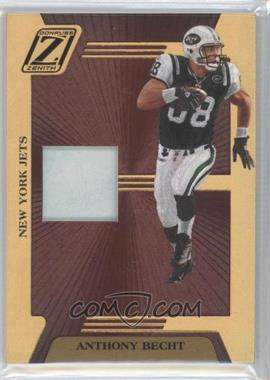 2005 Donruss Zenith Z-Jerseys Prime #Z-62 - Anthony Becht /100