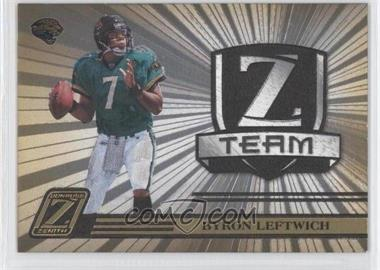2005 Donruss Zenith Z Team Gold #ZT-13 - Byron Leftwich /100