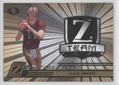 2005 Donruss Zenith Z Team Gold #ZT-24 - Alex Smith /100