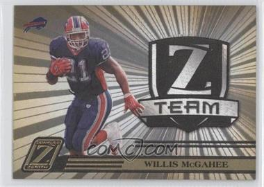2005 Donruss Zenith Z Team Gold #ZT-3 - Willis McGahee /100
