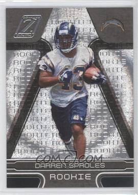 2005 Donruss Zenith #117 - Darren Sproles /999