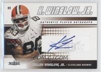 Kellen Winslow Jr. /150