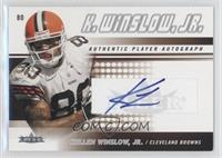 Kellen Winslow Jr. /150