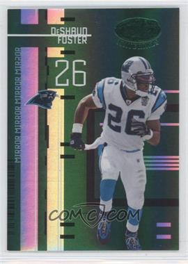 2005 Leaf Certified Materials Mirror Emerald #18 - DeShaun Foster /5