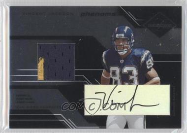 2005 Leaf Limited - [Base] #229 - Vincent Jackson /100