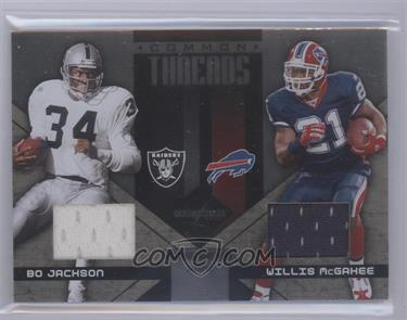 2005 Leaf Limited - Common Threads #CT-25 - Bo Jackson /25 [Mint]