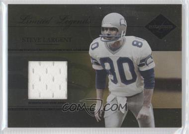 2005 Leaf Limited - Limited Legends #LL-20 - Steve Largent /50