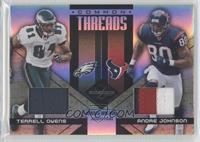Terrell Owens, Andre Johnson /10
