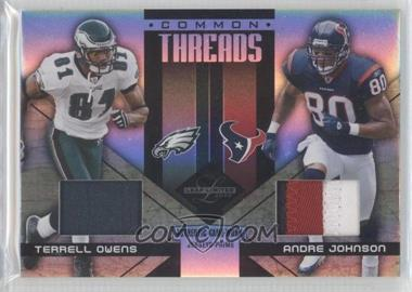 2005 Leaf Limited [???] #CT-30 - Terrell Owens, Andre Johnson /10