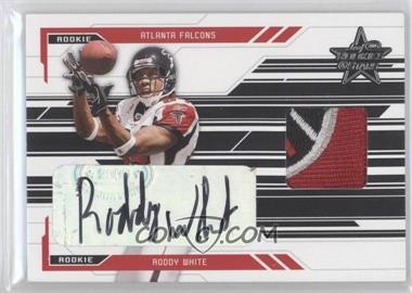 2005 Leaf Rookies & Stars - [Base] - Rookie Autographs [Autographed] #271 - Roddy White /50
