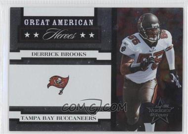 2005 Leaf Rookies & Stars [???] #GAH-11 - Derrick Brooks /750