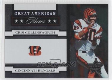 2005 Leaf Rookies & Stars [???] #GAH-9 - Cris Collinsworth /750