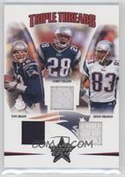 Tom Brady, Corey Dillon, Deion Branch /150