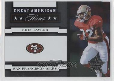 2005 Leaf Rookies & Stars Great American Heroes White #GAH-16 - John Taylor /750