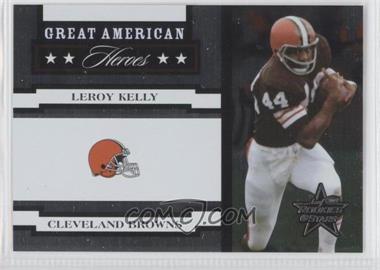 2005 Leaf Rookies & Stars Great American Heroes White #GAH-18 - Leroy Kelly /750
