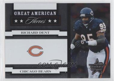 2005 Leaf Rookies & Stars Great American Heroes White #GAH-21 - Richard Dent /750