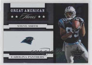 2005 Leaf Rookies & Stars Great American Heroes White #GAH-24 - Steve Smith /750