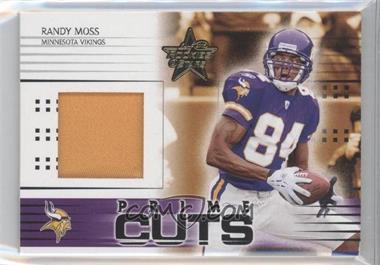 2005 Leaf Rookies & Stars Prime Cuts #PC-25 - Randy Moss /25