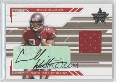 """2005 Leaf Rookies & Stars Rookie Autographs [Autographed] #257 - Carnell """"Cadillac"""" Williams /50"""