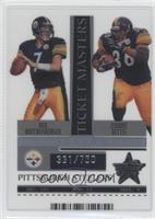 Ben Roethlisberger, Jerome Bettis /750