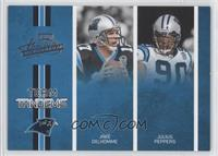 Jake Delhomme, Julius Peppers /250