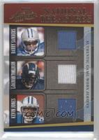 Barry Sanders, LaDainian Tomlinson, Kevin Jones /50