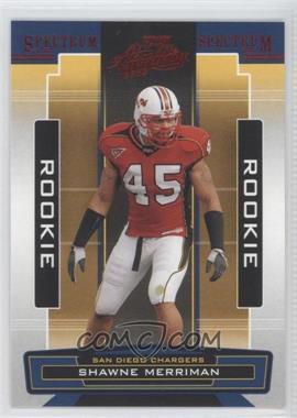2005 Playoff Absolute Memorabilia Retail Spectrum Red #152 - Shawne Merriman