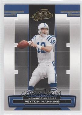 2005 Playoff Absolute Memorabilia Retail #68 - Peyton Manning