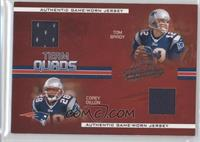 Tom Brady, Corey Dillon, Ty Law, Bethel Johnson /50