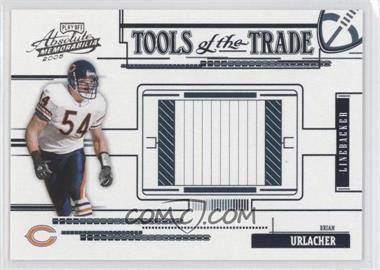 2005 Playoff Absolute Memorabilia Tools of the Trade Black #TT-10 - Brian Urlacher /150