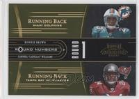 Ronnie Brown, Carnell Williams /250
