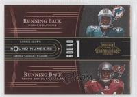 Carlos Rogers, Jason Campbell, Ronnie Brown, Carnell Williams /250