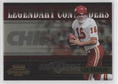2005 Playoff Contenders Legendary Contenders Red #LC-13 - Len Dawson /100